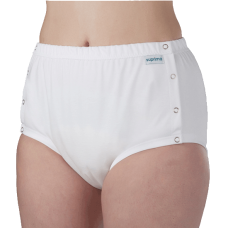 Unisex PU Briefs Button Up for Medium to Heavy Incontinence - Suprima 1288